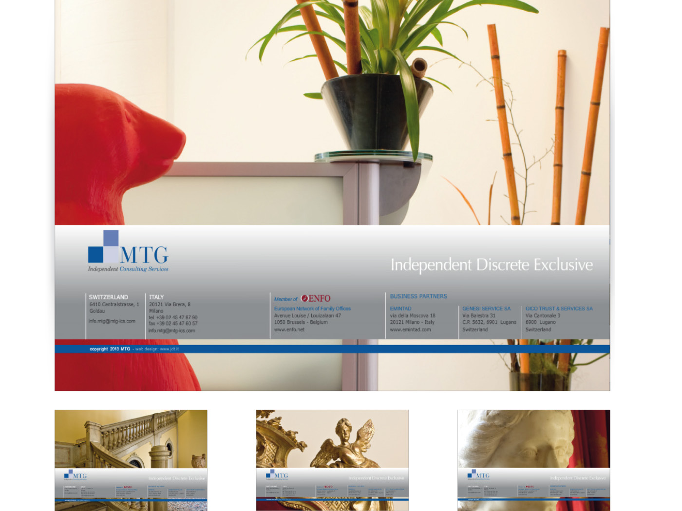 MTG Independent Consulting Services website